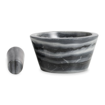Marblelous Pestel and Mortar Set - Grey