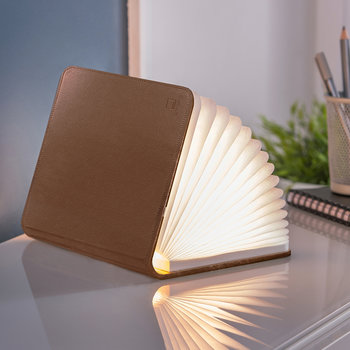 Leather Smart Book Light - Brown