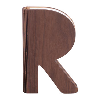 The R Space Lamp - Walnut