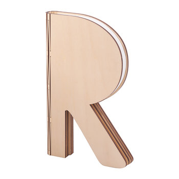 The R Space Lamp - Maple