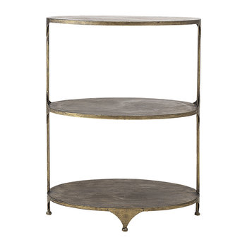 Metal Bar Table - Brass