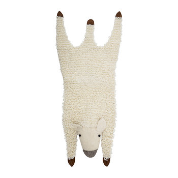 Wool Sheep Rug - Natural