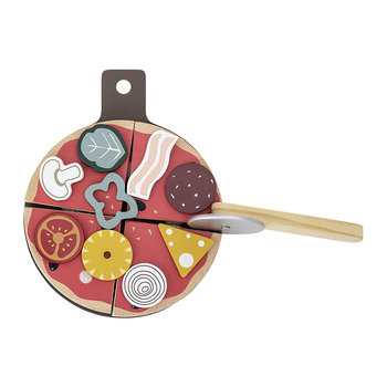 Children's Pizza Play Food Set
