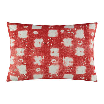 Santorini Cushion - 60x40cm - Rouge