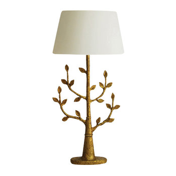 Milla Bronze Table Lamp Base - Gilded Finish