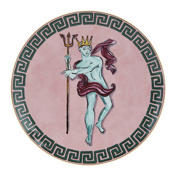 Luke Edward Hall Neptune Centrepiece/ Charger Plate - Pink