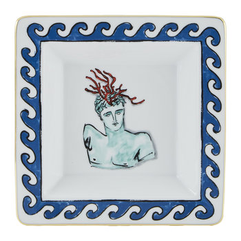Luke Edward Hall Coral Crown Trinket Tray - White