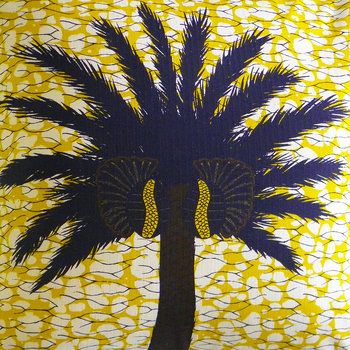 Aburi Pillow - 50x50cm - Yellow