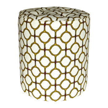 Ojo Pouffe - Yellow