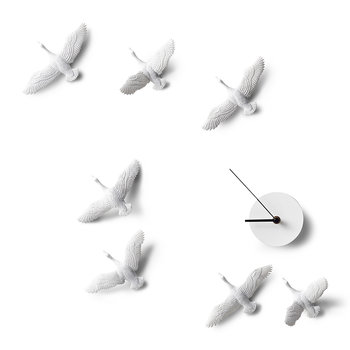 Migrant Bird X Clock