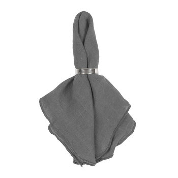 Gracie Eco Friendly Napkin - Dark Shadow