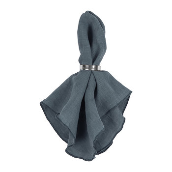 Gracie Eco Friendly Napkin - Petrol Blue