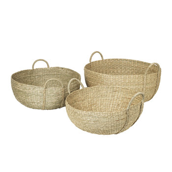 Astrid Sea Grass Basket - Natural