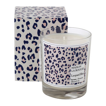 Leopard Blue Scented Candle