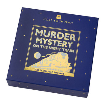 Host Your Own Murder Mystery on the Night Train
