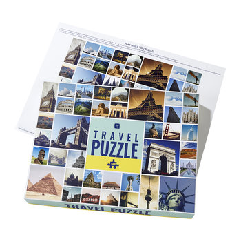 Worldly Wise Landmark Puzzle - Travel