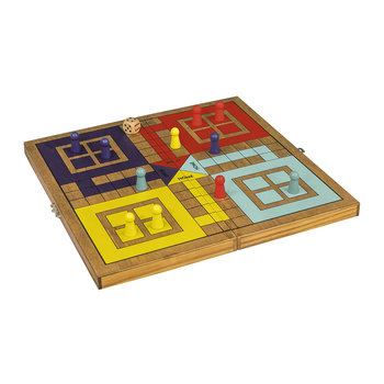Wooden Ludo Game