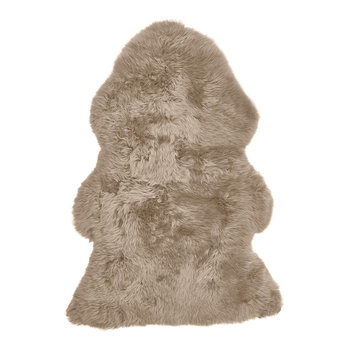 New Zealand Sheepskin Rug - 90x60cm - Taupe