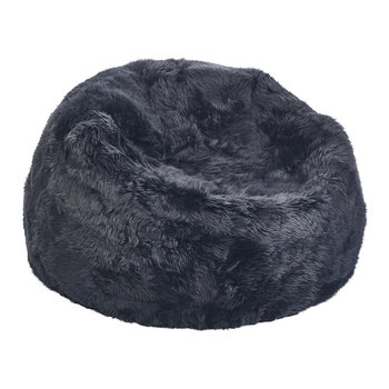 New Zealand Sheepskin Bean Bag - Navy
