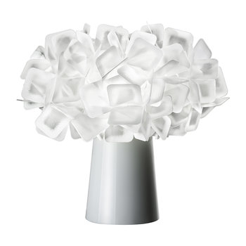 Clizia Table Lamp - White