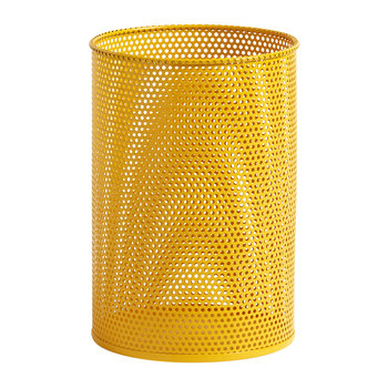 Perforated Bin - Medium - Yellow