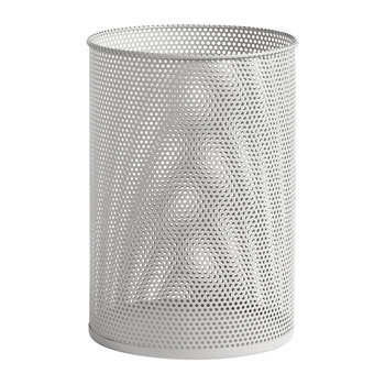Perforated Bin - Large - Light Grey