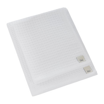 Giant Waffle Towel - White - Guest