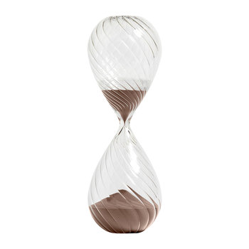 Glass Sand Timer - Copper