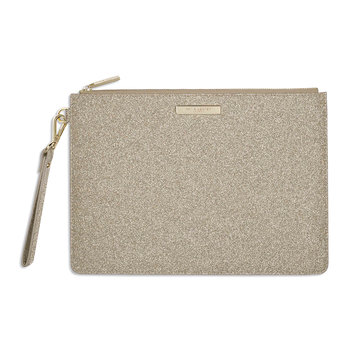 Clutch Bag - Sparkly Champagne