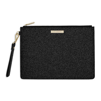 Clutch Bag - Sparkly Black