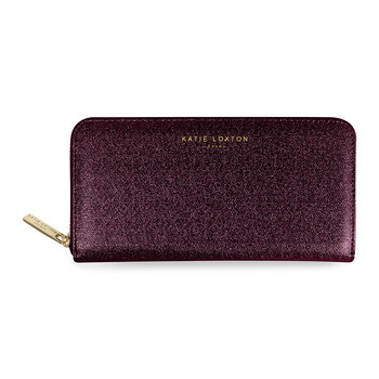 Alexa Purse - Burgundy Shimmer