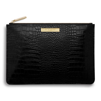 Celine Perfect Pouch - Croc