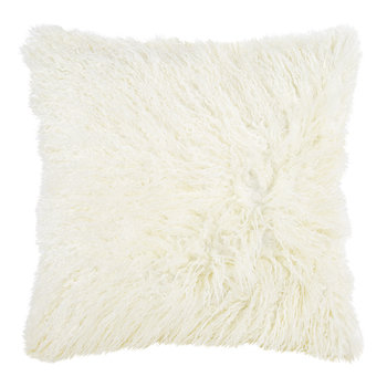 Makura Fur Cushion - Ivory