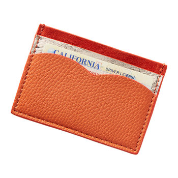 Monochromatic Card Holder - Poppy
