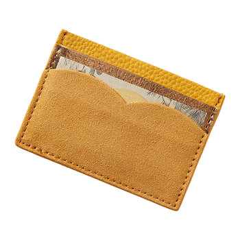 Monochromatic Card Holder - Ochre