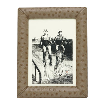 Witney Leather Frame - Oat