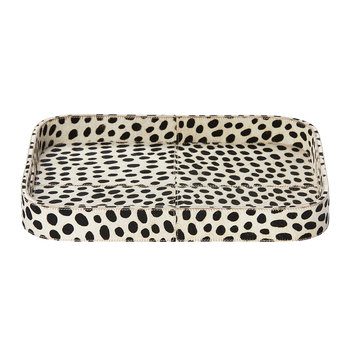 Bandar Hair-On Hide Tray - Dalmatian