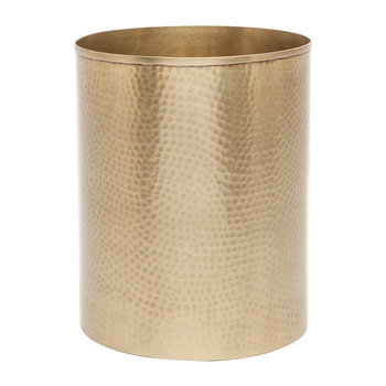 Verum Waste Bin - Antique Brass