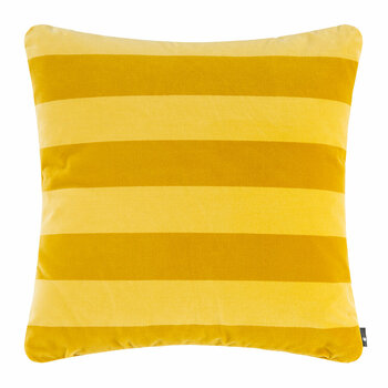 Soft Stripe Pillow - Yellow