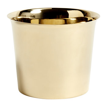 Botanical Family Pot - Brass