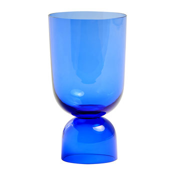 Bottoms Up Vase - Small - Electric Blue
