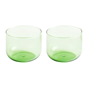 Tint Glass - Set of 2 - Green