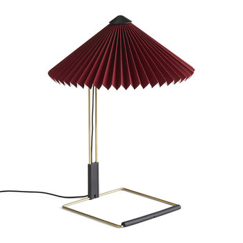 Matin Table Lamp - Oxide Red