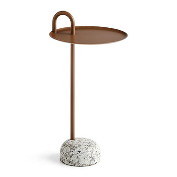 Bowler Side Table - Pale Brown