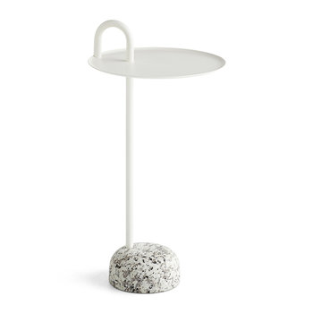 Bowler Side Table - Cream White