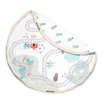 2in1 Toy Storage and Play Mat - Map - Fantasy