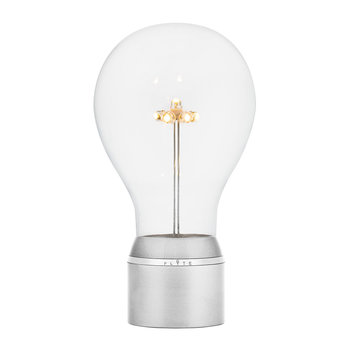 Edison Single Light Bulb - Chrome