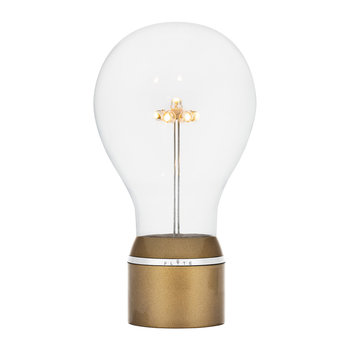 Edison Single Light Bulb - Gold