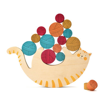 Miaow! Wooden Game