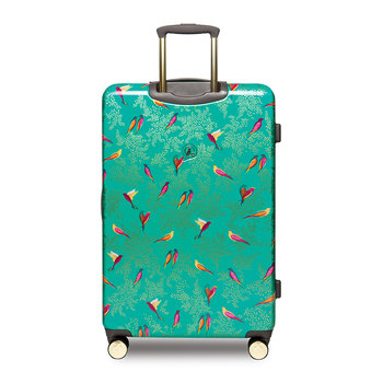 Playing Birds Trolley Suitcase